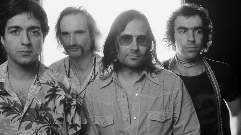Jaki Liebezeit, Holger Czukay, Irmin Schmidt, Peter Gilmour z zespołu Can