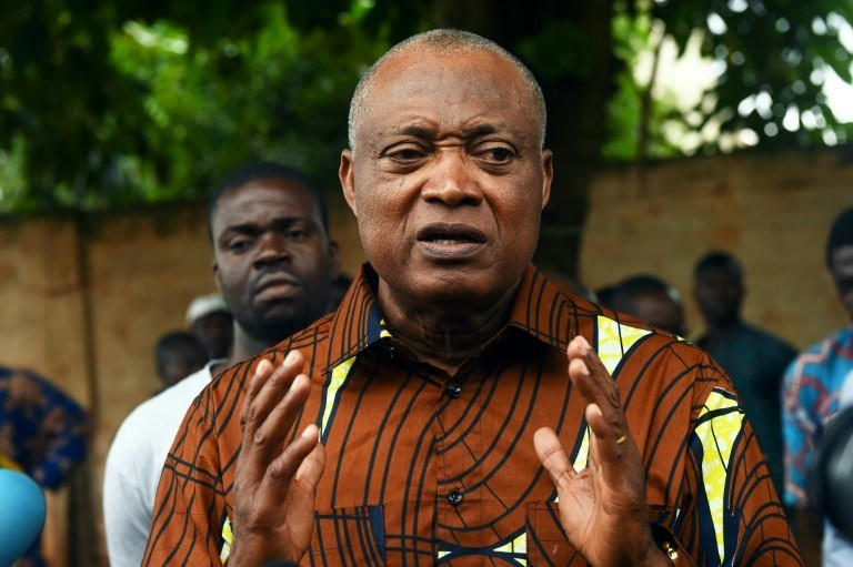 Togo's opposition leader Jean-Pierre Fabre is an ally and rival of Tikpi Atchadam