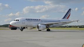 W Krakowie wylądował pierwszy samolot Air France