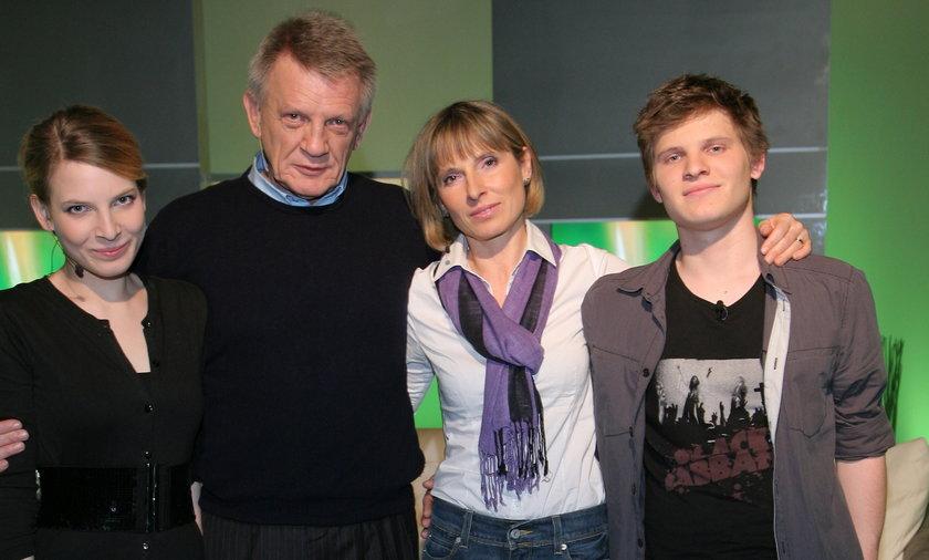 Bronisław Cieślak z rodziną