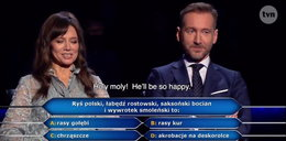 """Węglarczyk o wpadce w """"Milionerach"""""""