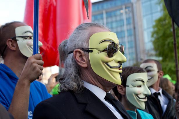 Protesty przeciw umowie CETA