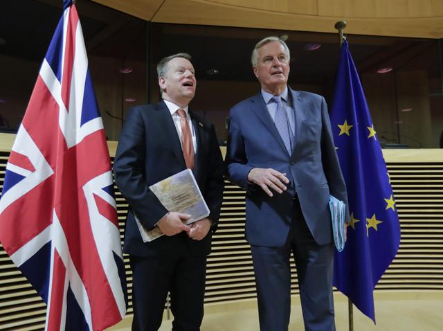 Pregovarači Britanije i EU, Dejvid Frost i Mišel Barnije