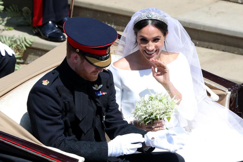 Tak wyglądał ślub księcia Harry'ego i Meghan Markle!