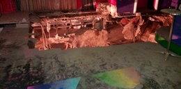 Podłoga runęła w dyskotece. 40 osób rannych
