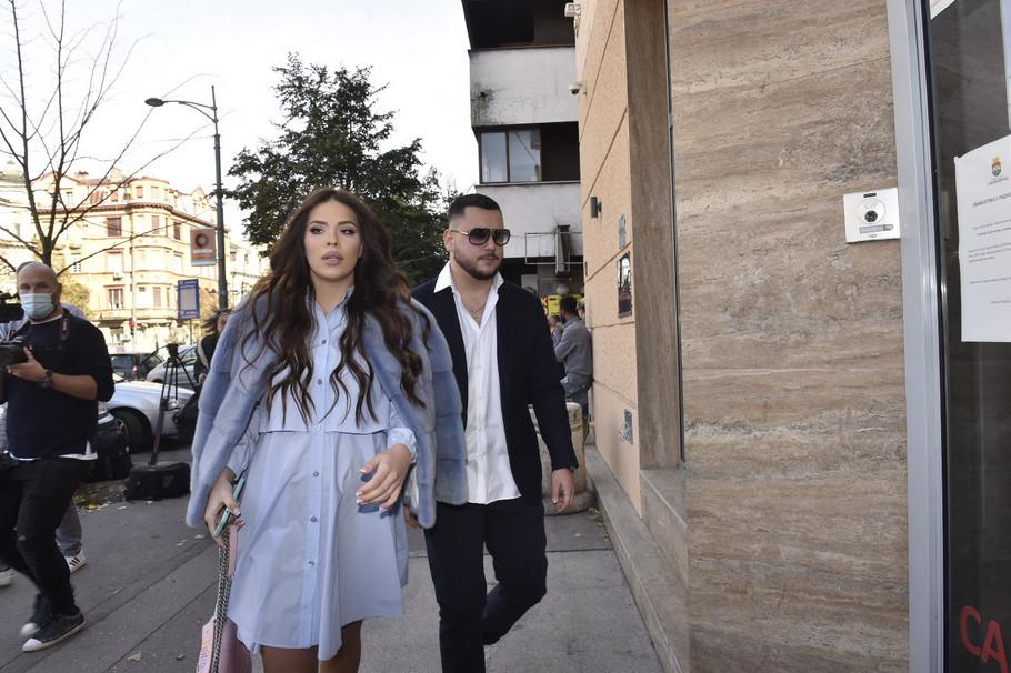 Miloš Trajković i Nina Jezdimirović