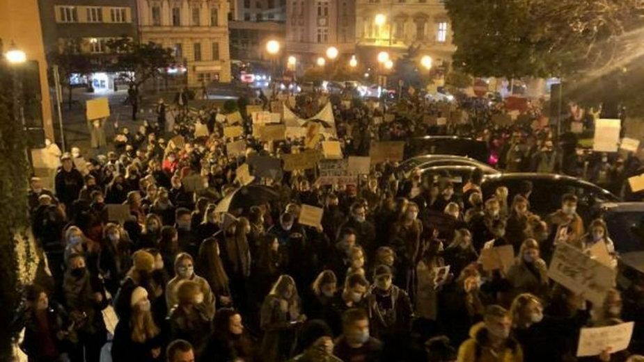 Prezydent Bielska-Białej zabrał głos ws. protestów
