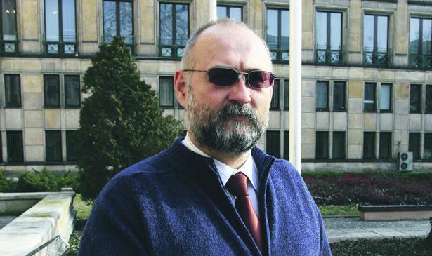 Tomasz Ludwiński, przewodniczący Sekcji Krajowej Pracowników Skarbowych NSZZ Solidarność