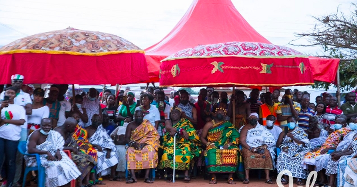 1D1F:Chief and people of Asebu Putubiw ask Akufo-Addo for Akpeteshie factory