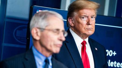 With Dr. Fauci, Trump may have picked the one fight he can't win