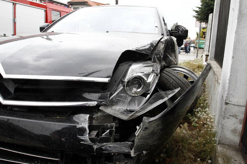 Wypadek Justyny Steczkowskiej w Raszynie