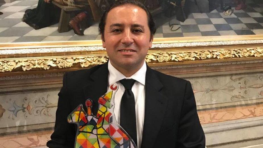 Wassim Ibrahim z nagrodą Krakowskiego Ambasadora wielokulturowości A.D.2019.