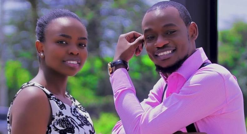 Brian Ogana aka  Luwi Hausa with Maria