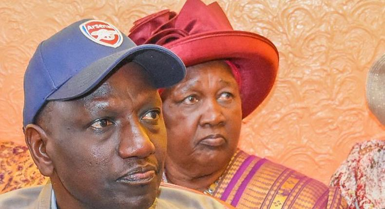 You are a special gift to me - DP William Ruto's heart warming mother's day message  to Mama Sarah Cheruyoit