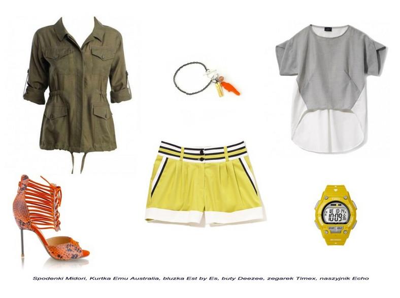 Modne stylizacje sportowe na lato 2012