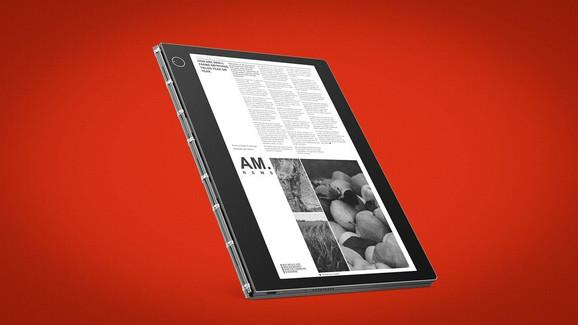 Nova Yoga Book ima novu E-ink tastaturu koja služi i kao drugi displej