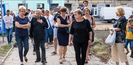 Prezydent na spacerze na Starym Polesiu