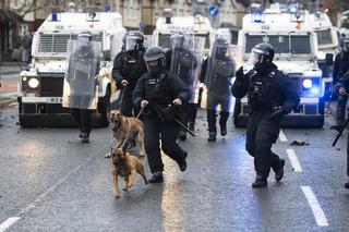Zamieszki w Belfaście: 19 policjantów rannych