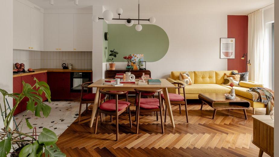 Mieszkanie w stylu vintage. Powstało na warszawskim Kamionku.