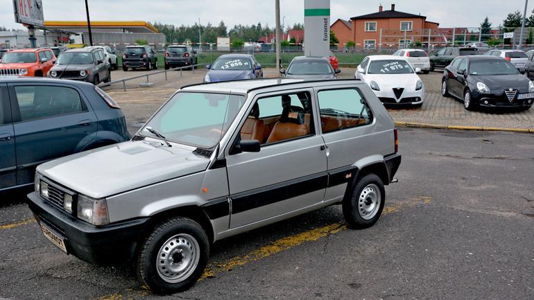 Fiat Panda 4x4 - droga, ale sensowna