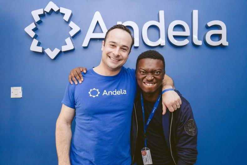 Jeremy Johnson, co-founder and CEO of Andela.