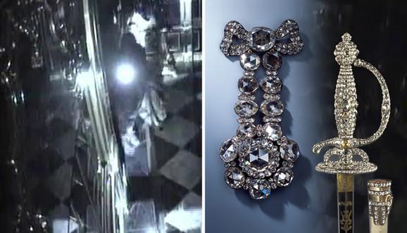 Vrednost pokradenih dragocenosti iz muzeja procenjuje se na milijardu evra