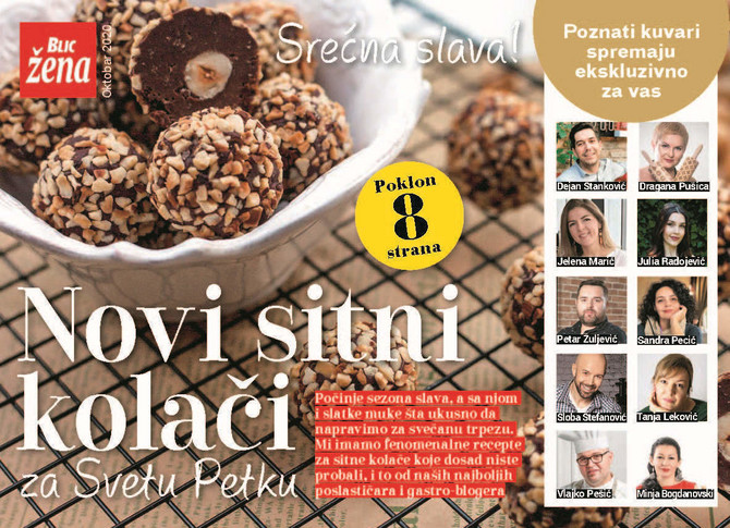 Nove slavske kolače za vas su smislili naši najpopularniji gastro-blogeri, kuvari i poslastičari