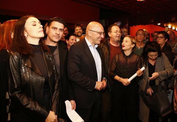 Narodno pozorište, štrajk upozorenja