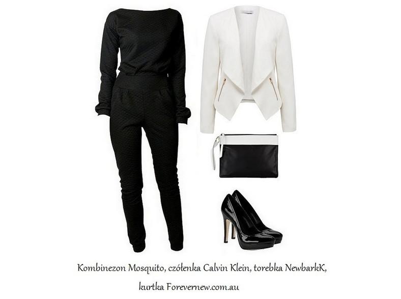 Czerń i biel w minimalistycznym wydaniu - STYLIZACJE