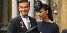 Beckhamowie na ślubie Kate i Williama