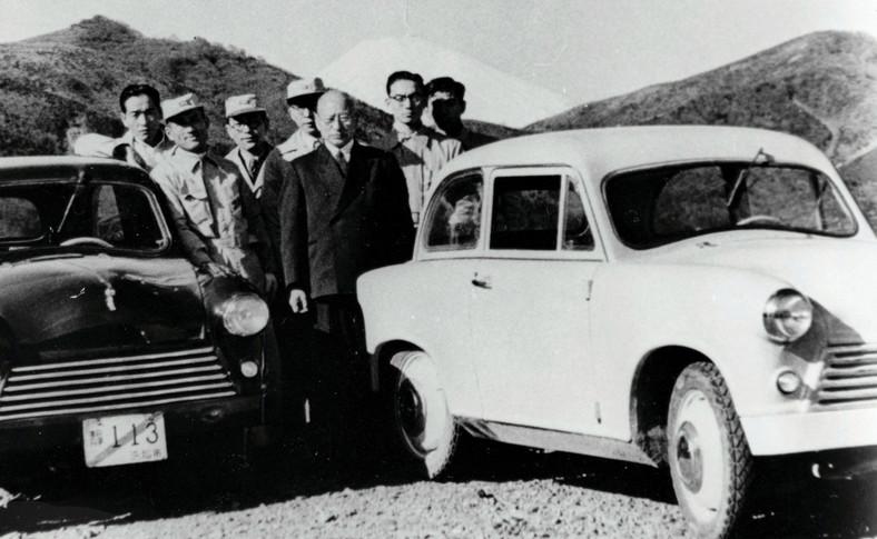 Testy Suzulight w 1954 roku