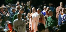 Mnich z Japonii wytrzymał 9 dni bez jedzenia, snu i picia