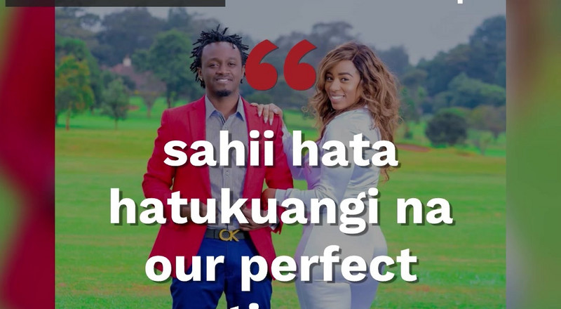 Bahati tells Diana he is not ready for another baby