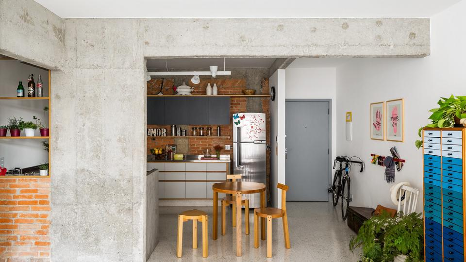 Projekt Apartamentów autorstwa Vitrô Arquitetura, Brazylia
