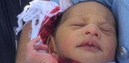 7-dniowe niemowlę w kanale. Przeżyło!