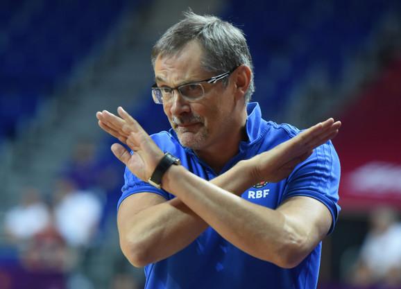 Sergej Bazarevič, selektor košarkaša Rusije