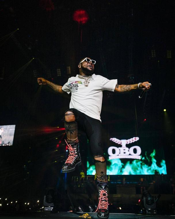 Davido sets his sights on the American market after conquering the 02 Arena in London (Instagram/Efe One)