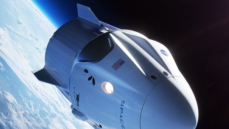 spacex crew dragon spaceship nasa commercial crew program illustration 42878298755_a9670c6596_o