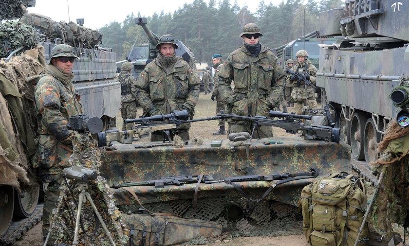 Niemcy zbroją Polskę!
