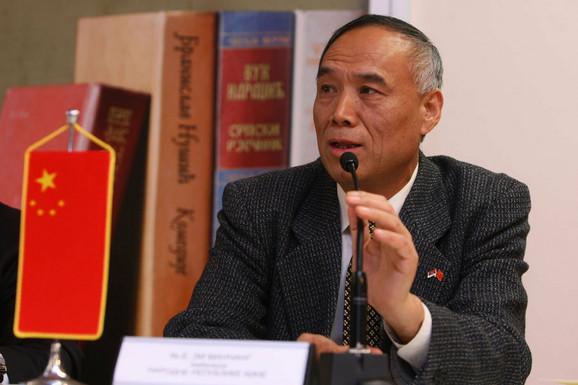 Ambasador Kine u Srbiji Li Mančang