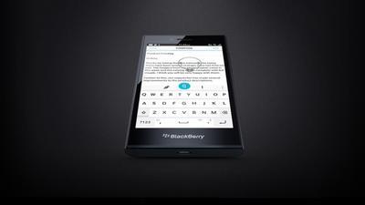 Leap: BlackBerry stellt neues Smartphone auf dem MWC vor
