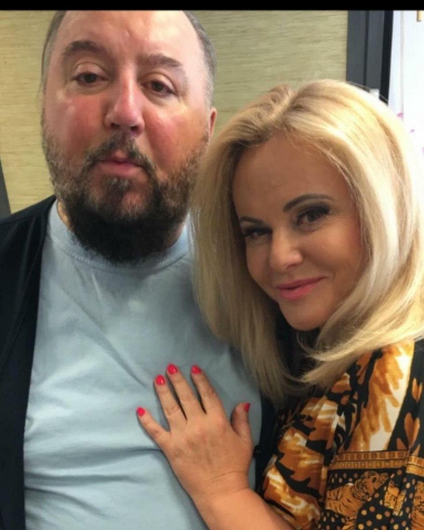 Dariusz Gnatowski i Joanna Kurowska