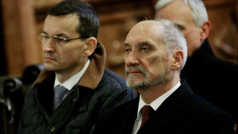 Mateusz Morawiecki i Antoni Macierewicz