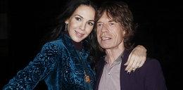 Jagger przerywa milczenie po śmierci partnerki