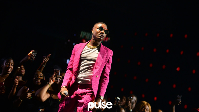 Wizkid at his Exclusive VIP Live concert in Lagos
