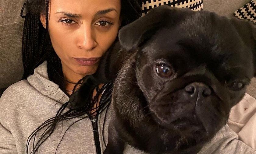 Aleksandra Szwed prosi o pomoc w odnalezieniu psa.