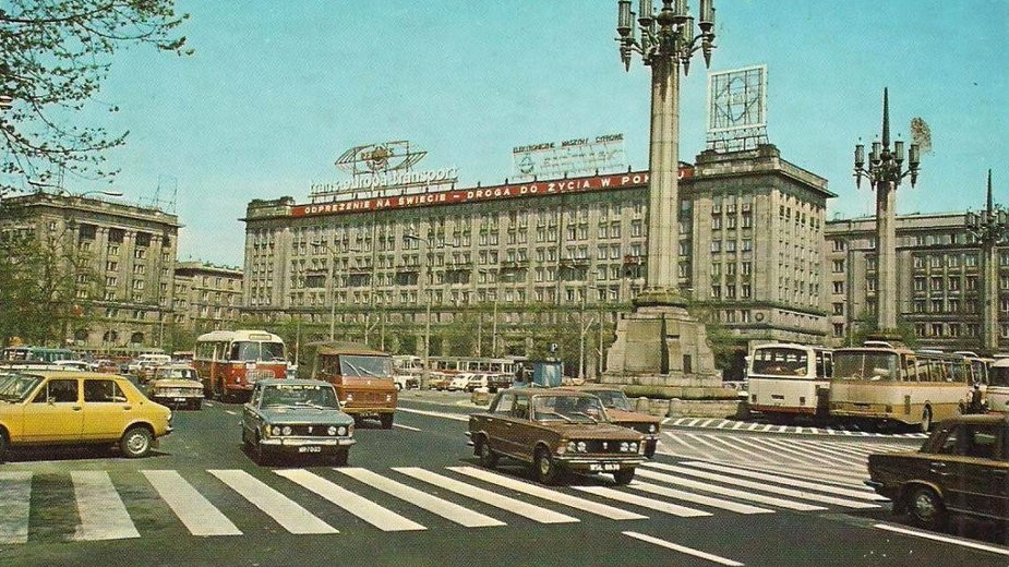 Plac Konstytucji, lata 70.