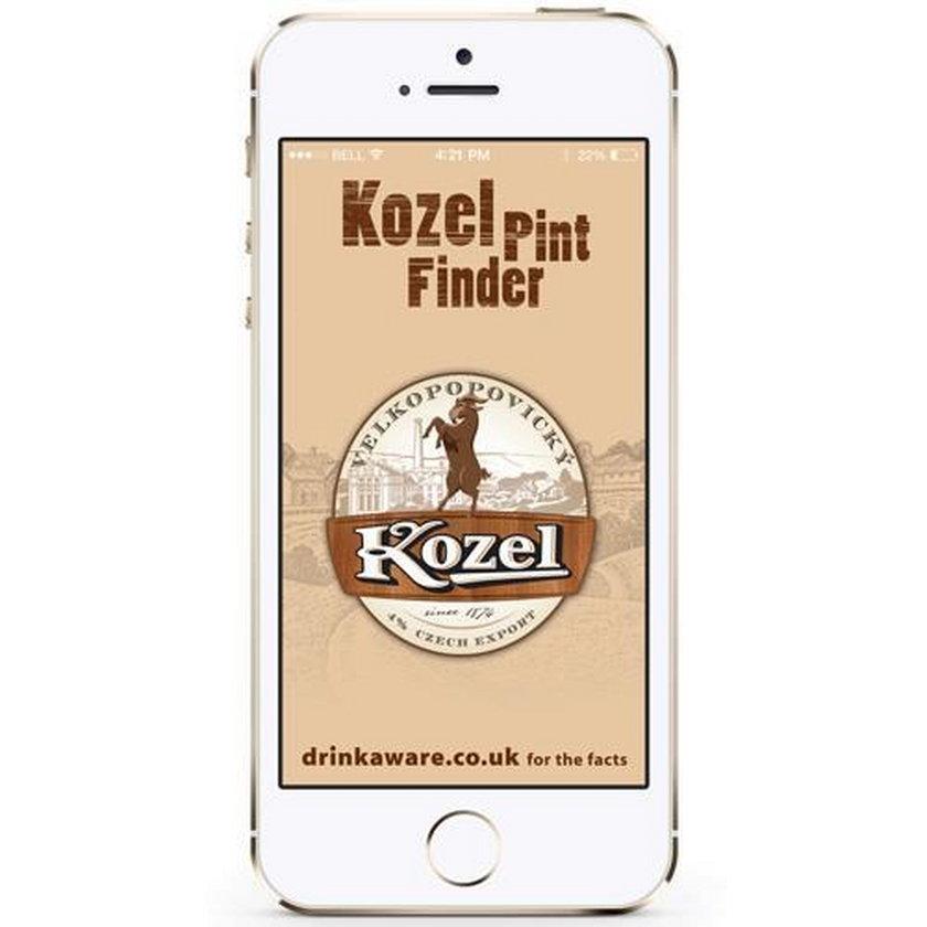 Kozel Pint Finder