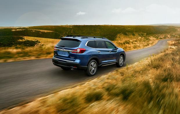 Subaru Ascent będzie można zamówić w wersji 7 i 8 osobowej. Produkcja samochodu będzie się odbywać w USA