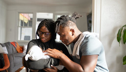 Welcoming a new baby can be challenging for couples